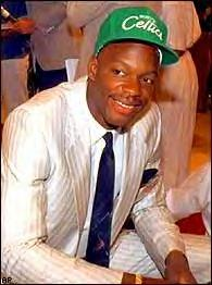 Bias after being selected 2nd overall in '86